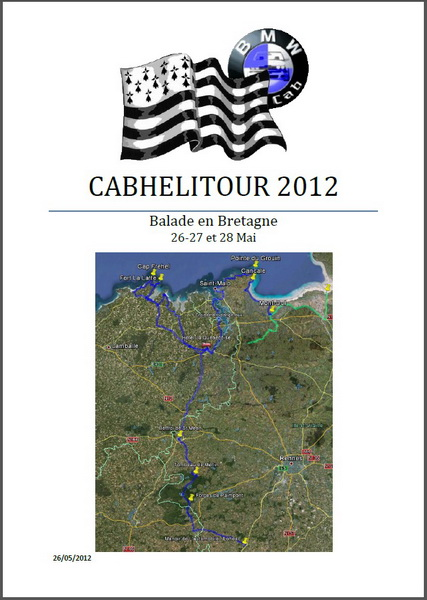 CABHELITOUR 2012 - Le Recit CouvRB